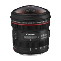 Canon EF 8-15mm f:4L Fisheye USM Lens