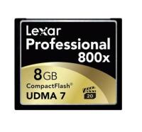 Lexar CF 800x 8gb