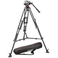 Manfrotto-MVH502A-head-+-546B-tripod-+-unpadded-bag---Professional-fluid-video-system_-aluminum-_-mid-spreader
