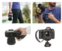Joby Ultrafit Hand strap plus Ultra plate  : Camera Hand Strap 4views