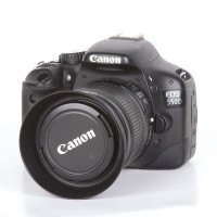 Canon EOS 550D + 18-55 IS lens (USED GEAR)