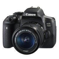 CANON EOS 750D DSLR Camera with EF-S 18-55 mm IS STM Zoom Lens