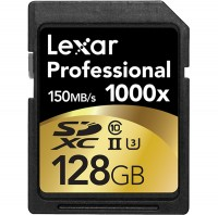 Lexar Professional 128gb SD 1000x