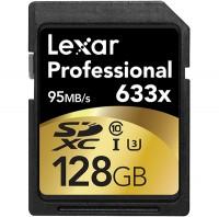 Lexar Professional 128gb SD 633x