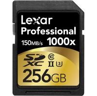 Lexar Professional 256gb SD 1000x