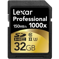 Lexar Professional 32gb SD 1000x
