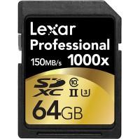 Lexar Professional 64gb SD 1000x