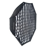 Phottix 2-in-1 Octagon Softbox with Grid 122cm