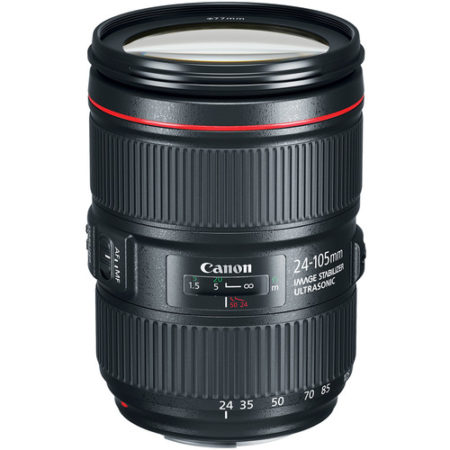Canon EF 24-105mm f/4 L IS USM MKII Lens