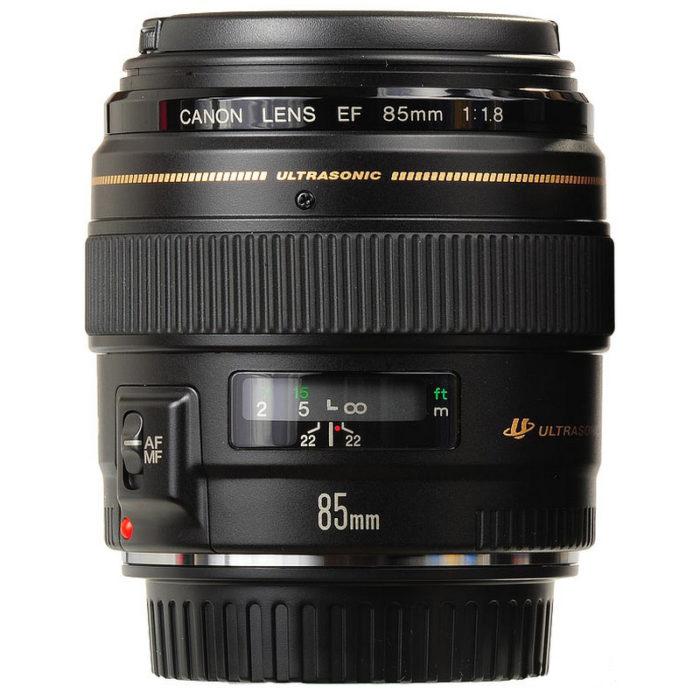 Canon EF 85mm f/1.8 USM Lens - Studio22Online