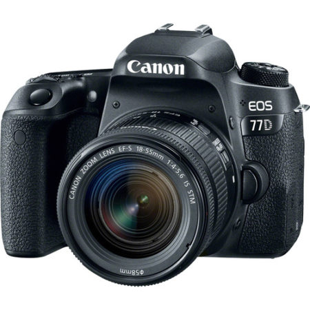 Canon EOS 77D +18-55 IS STM Lens