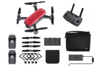 DJI Spark FlyMore Combo Lava Red