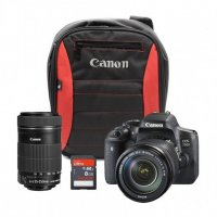 Canon 750D+18-55mm IS STM+EFS 55-250mm IS STM (Reach Bundle)