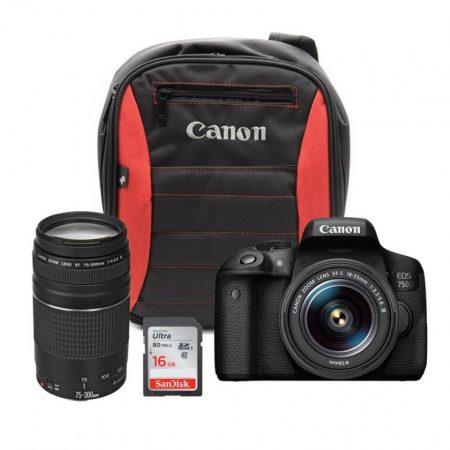 Canon EOS 750D Twin Lens Bundle