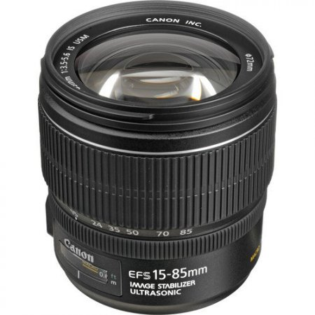 Canon EF-S 15-85mm f3.5-5.6 IS USM Lens (Used Gear)