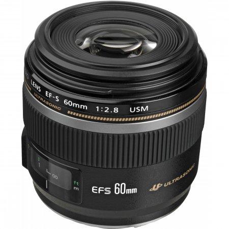 Canon EF-S 60mm f2.8 USM Macro Lens (Used Gear)