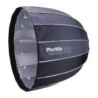 Phottix Raja Quick Folding 80cm Deep Octa Softbox with Grid