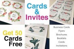<b>GET 50 CARDS FREE</b>