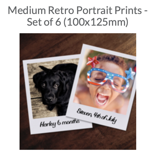 Try our Retro Prints